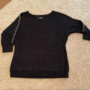 Miss Me black studded sweater